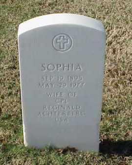 ACHTERBERG, SOPHIA - Pulaski County, Arkansas | SOPHIA ACHTERBERG - Arkansas Gravestone Photos