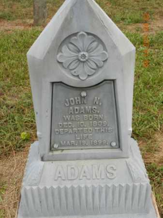 ADAMS, JOHN NICHOLS - Pulaski County, Arkansas | JOHN NICHOLS ADAMS - Arkansas Gravestone Photos