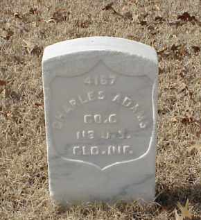 ADAMS (VETERAN UNION), CHARLES - Pulaski County, Arkansas | CHARLES ADAMS (VETERAN UNION) - Arkansas Gravestone Photos