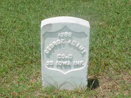 ADAMS (VETERAN UNION), GEORGE - Pulaski County, Arkansas | GEORGE ADAMS (VETERAN UNION) - Arkansas Gravestone Photos