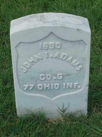 ADAMS (VETERAN UNION), JOHN I - Pulaski County, Arkansas | JOHN I ADAMS (VETERAN UNION) - Arkansas Gravestone Photos