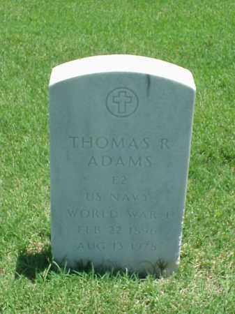 ADAMS (VETERAN WWI), THOMAS R - Pulaski County, Arkansas | THOMAS R ADAMS (VETERAN WWI) - Arkansas Gravestone Photos