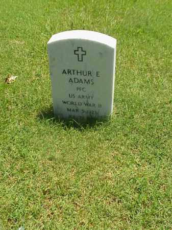 ADAMS (VETERAN WWII), ARTHUR E - Pulaski County, Arkansas | ARTHUR E ADAMS (VETERAN WWII) - Arkansas Gravestone Photos