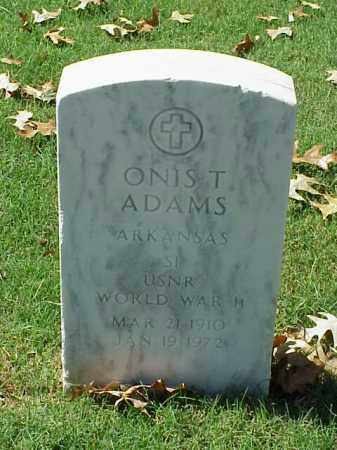 ADAMS (VETERAN WWII), ONIS THEAMER - Pulaski County, Arkansas | ONIS THEAMER ADAMS (VETERAN WWII) - Arkansas Gravestone Photos