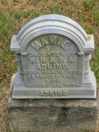 ADKINS, MAMIE - Pulaski County, Arkansas   MAMIE ADKINS - Arkansas Gravestone Photos