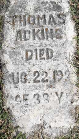 ADKINS, THOMAS - Pulaski County, Arkansas | THOMAS ADKINS - Arkansas Gravestone Photos