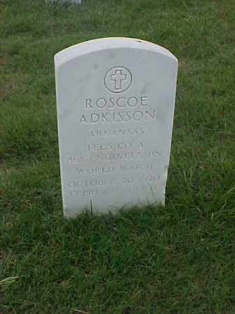 ADKISSON (VETERAN WWII), ROSCOE - Pulaski County, Arkansas | ROSCOE ADKISSON (VETERAN WWII) - Arkansas Gravestone Photos