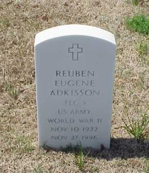 ADKISSON (VETERAN WWII), REUBEN EUGENE - Pulaski County, Arkansas   REUBEN EUGENE ADKISSON (VETERAN WWII) - Arkansas Gravestone Photos