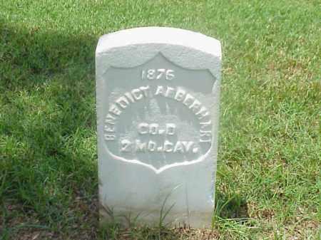 AEBERHART (VETERAN UNION), BENEDICT - Pulaski County, Arkansas   BENEDICT AEBERHART (VETERAN UNION) - Arkansas Gravestone Photos
