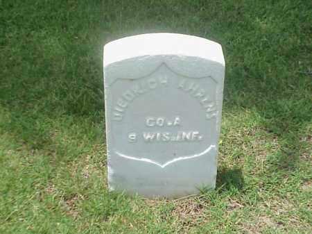 AHRENS (VETERAN UNION), DIEDRICH - Pulaski County, Arkansas   DIEDRICH AHRENS (VETERAN UNION) - Arkansas Gravestone Photos