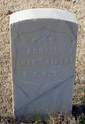 AIKEN (VETERAN UNION), EMANUEL - Pulaski County, Arkansas | EMANUEL AIKEN (VETERAN UNION) - Arkansas Gravestone Photos