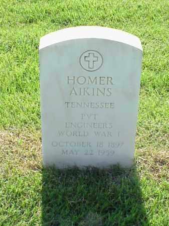 AIKINS (VETERAN WWI), HOMER - Pulaski County, Arkansas | HOMER AIKINS (VETERAN WWI) - Arkansas Gravestone Photos