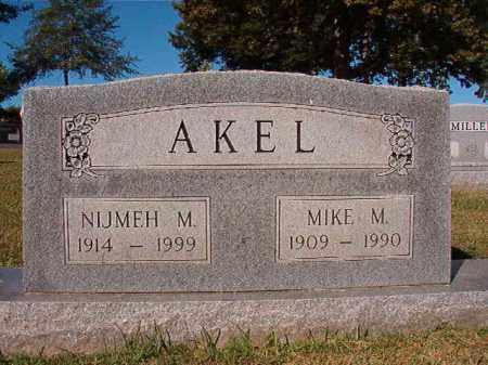AKEL, MIKE M - Pulaski County, Arkansas | MIKE M AKEL - Arkansas Gravestone Photos