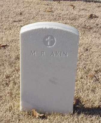 AKIN, M R - Pulaski County, Arkansas   M R AKIN - Arkansas Gravestone Photos