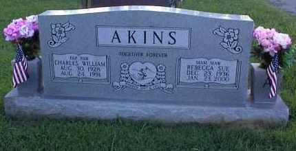 ELLIOTT AKINS, REBECCA SUE - Pulaski County, Arkansas | REBECCA SUE ELLIOTT AKINS - Arkansas Gravestone Photos