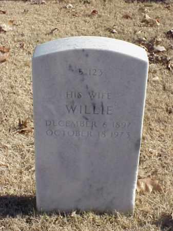 ALBERT, WILLIE - Pulaski County, Arkansas   WILLIE ALBERT - Arkansas Gravestone Photos