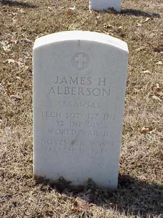 ALBERTSON (VETERAN WWII), JAMES H - Pulaski County, Arkansas | JAMES H ALBERTSON (VETERAN WWII) - Arkansas Gravestone Photos