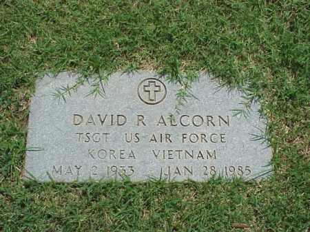 ALCORN (VETERAN 2WARS), DAVID RUSH - Pulaski County, Arkansas | DAVID RUSH ALCORN (VETERAN 2WARS) - Arkansas Gravestone Photos