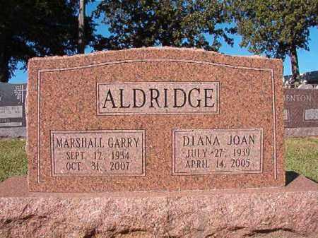 ALDRIDGE, MARSHALL GARRY - Pulaski County, Arkansas | MARSHALL GARRY ALDRIDGE - Arkansas Gravestone Photos