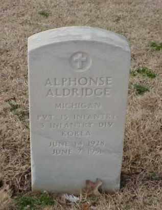 ALDRIDGE (VETERAN KOR), ALPHONSE - Pulaski County, Arkansas   ALPHONSE ALDRIDGE (VETERAN KOR) - Arkansas Gravestone Photos