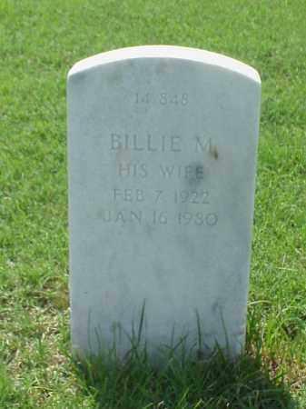 ALEXANDER, BILLIE M. - Pulaski County, Arkansas | BILLIE M. ALEXANDER - Arkansas Gravestone Photos