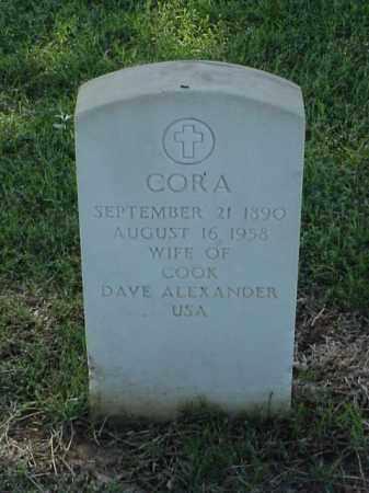 ALEXANDER, CORA - Pulaski County, Arkansas | CORA ALEXANDER - Arkansas Gravestone Photos