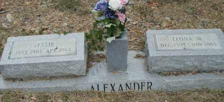 ALEXANDER, JESSIE - Pulaski County, Arkansas | JESSIE ALEXANDER - Arkansas Gravestone Photos