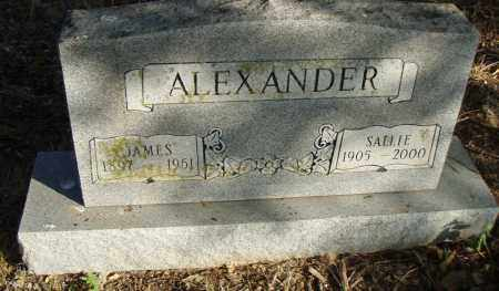 ALEXANDER, JAMES - Pulaski County, Arkansas | JAMES ALEXANDER - Arkansas Gravestone Photos