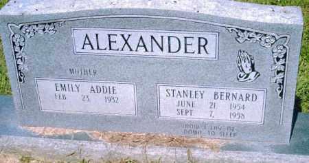 ALEXANDER, STANLEY BERNARD - Pulaski County, Arkansas   STANLEY BERNARD ALEXANDER - Arkansas Gravestone Photos