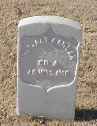 ALEXANDER (VETERAN UNION), G T - Pulaski County, Arkansas | G T ALEXANDER (VETERAN UNION) - Arkansas Gravestone Photos