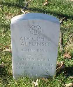 ALFONSO (VETERAN WWI), ADOLPH L - Pulaski County, Arkansas   ADOLPH L ALFONSO (VETERAN WWI) - Arkansas Gravestone Photos