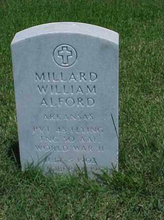 ALFORD (VETERAN WWII), MILLARD WILLIAM - Pulaski County, Arkansas | MILLARD WILLIAM ALFORD (VETERAN WWII) - Arkansas Gravestone Photos