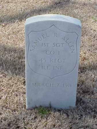ALLEN  (VETERAN UNION), SAMUEL R - Pulaski County, Arkansas   SAMUEL R ALLEN  (VETERAN UNION) - Arkansas Gravestone Photos