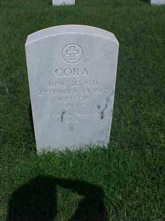 ALLEN, CORA - Pulaski County, Arkansas   CORA ALLEN - Arkansas Gravestone Photos