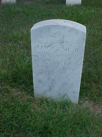 ALLEN, EMOGENE B - Pulaski County, Arkansas | EMOGENE B ALLEN - Arkansas Gravestone Photos