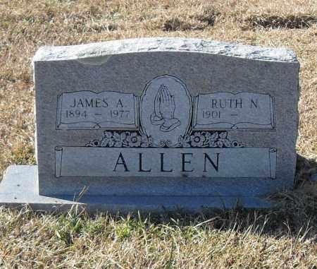 ALLEN, JAMES A. - Pulaski County, Arkansas | JAMES A. ALLEN - Arkansas Gravestone Photos