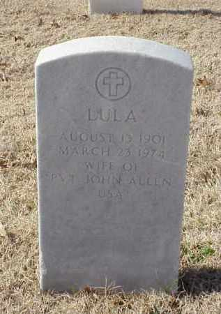 ALLEN, LULA - Pulaski County, Arkansas | LULA ALLEN - Arkansas Gravestone Photos
