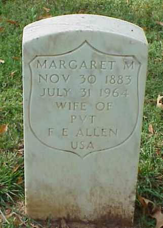 ALLEN, MARGARET M - Pulaski County, Arkansas | MARGARET M ALLEN - Arkansas Gravestone Photos