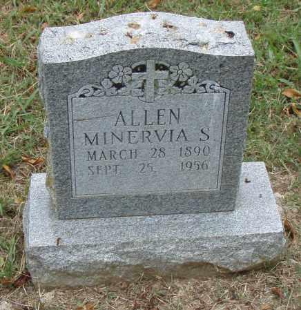 ALLEN, MINERVIA  S. - Pulaski County, Arkansas | MINERVIA  S. ALLEN - Arkansas Gravestone Photos