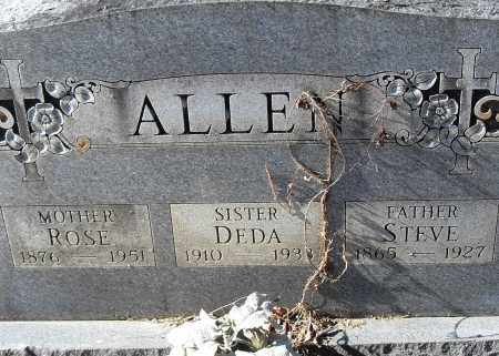 ALLEN, ROSE - Pulaski County, Arkansas | ROSE ALLEN - Arkansas Gravestone Photos
