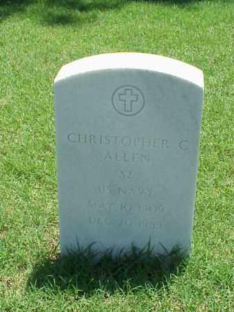 ALLEN (VETERAN), CHRISTOPHER C - Pulaski County, Arkansas   CHRISTOPHER C ALLEN (VETERAN) - Arkansas Gravestone Photos