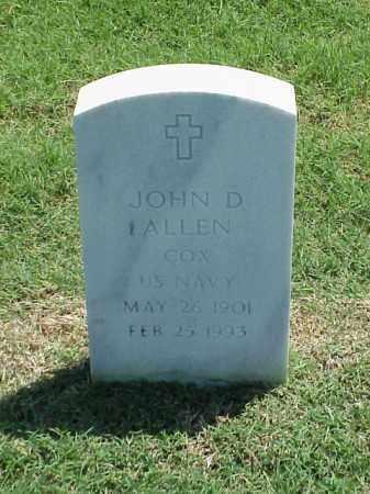 ALLEN (VETERAN), JOHN D - Pulaski County, Arkansas | JOHN D ALLEN (VETERAN) - Arkansas Gravestone Photos