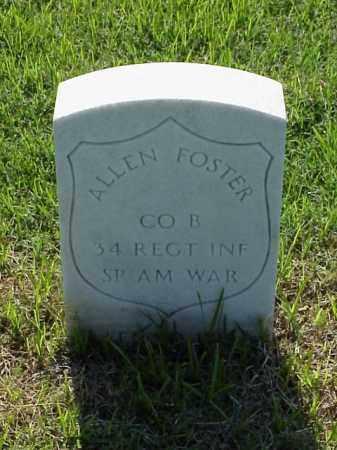 FOSTER (VETERAN SAW), ALLEN - Pulaski County, Arkansas | ALLEN FOSTER (VETERAN SAW) - Arkansas Gravestone Photos