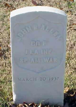ALLEN (VETERAN SAW), JOHN R - Pulaski County, Arkansas | JOHN R ALLEN (VETERAN SAW) - Arkansas Gravestone Photos