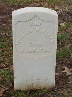 ALLEN (VETERAN UNION), WILLIAM B - Pulaski County, Arkansas | WILLIAM B ALLEN (VETERAN UNION) - Arkansas Gravestone Photos