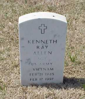 ALLEN (VETERAN VIET), KENNETH RAY - Pulaski County, Arkansas | KENNETH RAY ALLEN (VETERAN VIET) - Arkansas Gravestone Photos