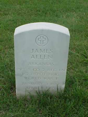 ALLEN (VETERAN WWI), JAMES - Pulaski County, Arkansas | JAMES ALLEN (VETERAN WWI) - Arkansas Gravestone Photos