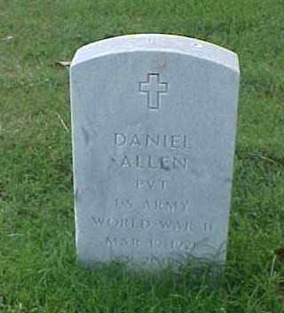 ALLEN (VETERAN WWII), DANIEL - Pulaski County, Arkansas | DANIEL ALLEN (VETERAN WWII) - Arkansas Gravestone Photos