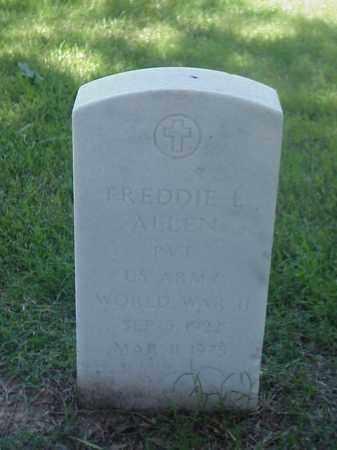ALLEN (VETERAN WWII), FREDDIE L - Pulaski County, Arkansas   FREDDIE L ALLEN (VETERAN WWII) - Arkansas Gravestone Photos