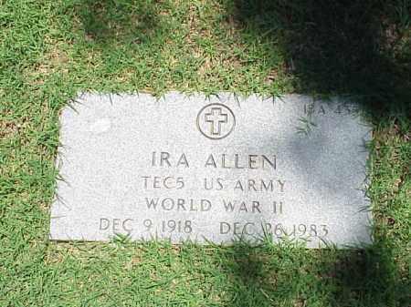 ALLEN (VETERAN WWII), IRA - Pulaski County, Arkansas | IRA ALLEN (VETERAN WWII) - Arkansas Gravestone Photos